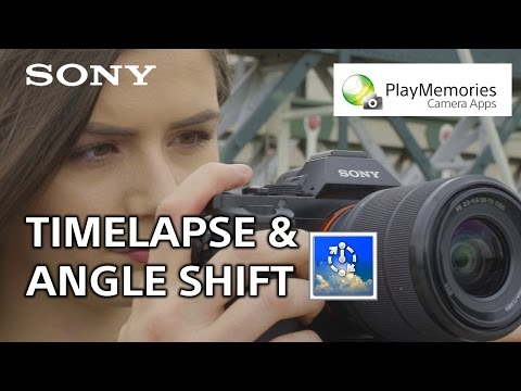 How to: Use the Time-lapse and Angle Shift Add-on apps – PlayMemories Camera Apps