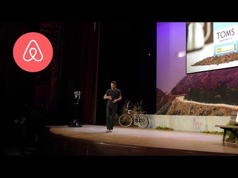 Blake Mycoskie on Evolving | Airbnb Open 2016 Los Angeles