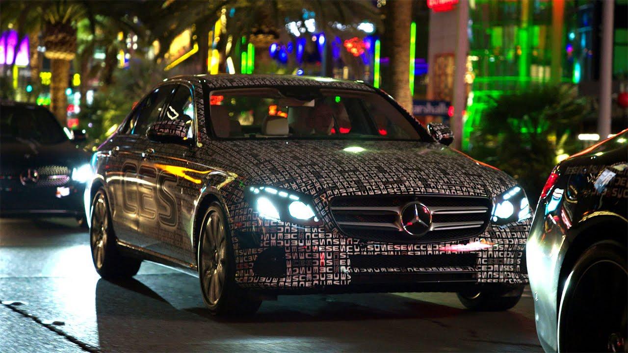 Mercedes-Benz TV: The new E-Class in Las Vegas.
