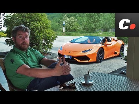 ITALIAN JOB Cap. 3: Lamborghini Huracán Spyder | Prueba / Test / Review en español | coches.net