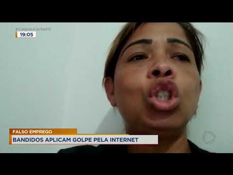 FALSO EMPREGO - BANDIDOS APLICAM GOLPE PELA INTERNET.