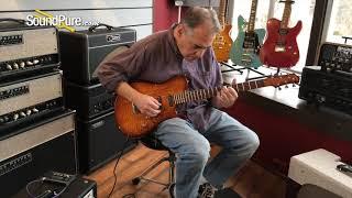 """Moriah Guitars Tabor Model """"Zipper"""" Electric Guitar Quick 'n' Dirty"""