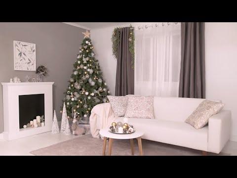 Tendencia navideña blanco y dorado – LEROY MERLIN