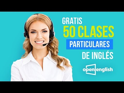 Open English- 50 Clases Particulares Gratis