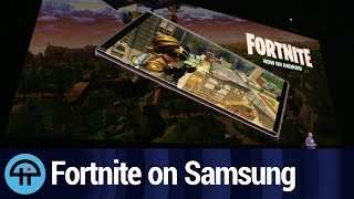 Fortnite Samsung Exclusive (with live commentary)