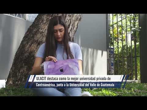 Reportaje en canal 7: ULACIT,  mejor universidad privada del país por undécimo año consecutivo