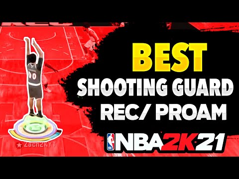 BEST SHOOTING GUARD BUILD FOR REC / PRO AM ON NBA 2K21 NEXT GEN! BEST LOCKDOWN SPOT UP BUILD!