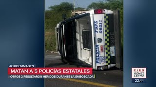 Asesinan a cinco policías de Guanajuato en Apaseo el Alto | Noticias con Ciro Gómez Leyva