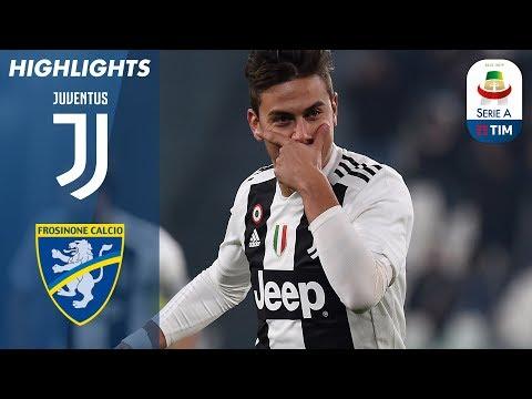 أهداف مباراة جوفنتوس 3-0 فروزينوني - البطولة الايطالية