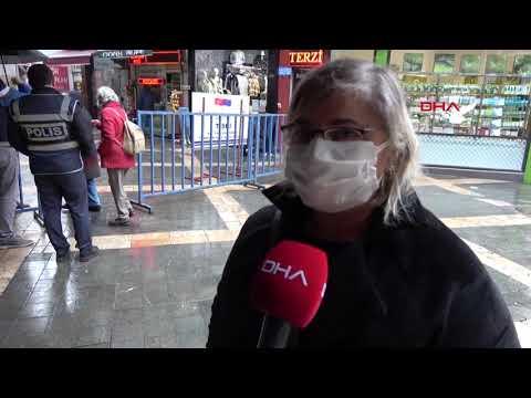 Trabzon'un kalabalık cadde ve sokağına HES kodu ile giriliyor
