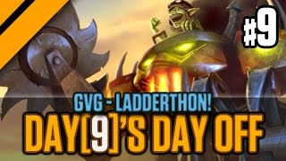 Day[9]'s Day Off - GvG - Ladderthon! P9 (Goblins vs Gnomes)