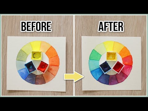 How to Avoid Muddy Colors when Painting – Color Mixing Secrets Demystified for Beginners