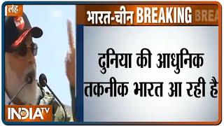 लद्दाख का पूरा हिस्सा भारत का मस्तक है: पीएम नरेंद्र मोदी   IndiaTV - INDIATV