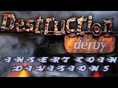 Destruction Derby (1995) - PlayStation - Wrecking Racing Division 5