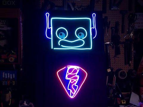 JOHN PARK'S WORKSHOP LIVE 8/9/18 Neon LED Signs @adafruit @johnedgarpark #adafruit