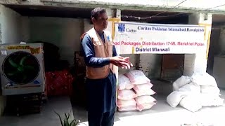 Cáritas Pakistán distribuye alimentos y kits de higiene durante la pandemia