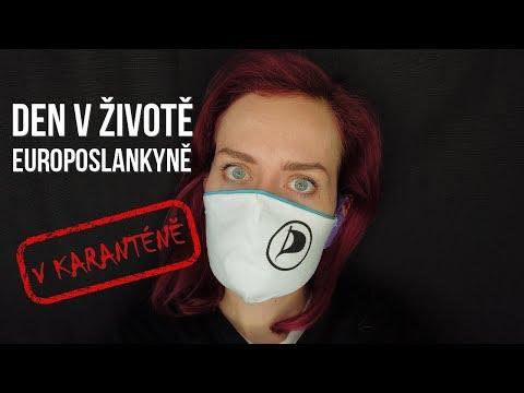 Den v životě europoslankyně (Karanténa edition) [#16 BEHIND THE SCENES]