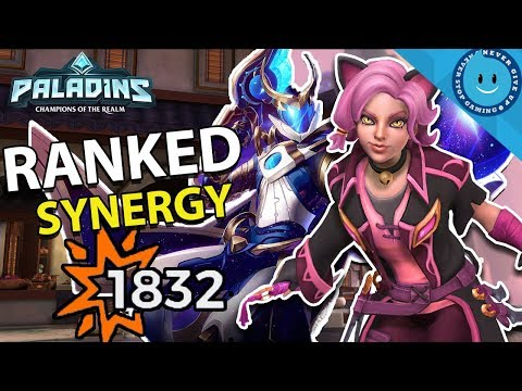 MAEVE & JENOS SYNERGY! Ranked Street Justice Maeve Build! (Paladins 1.0 Gameplay)