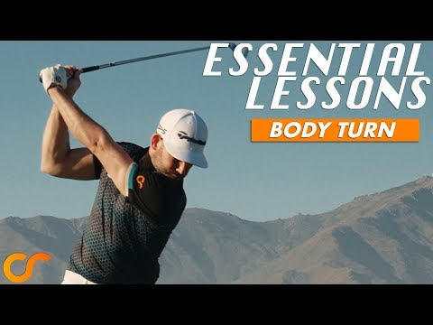 BODY TURN - ESSENTIAL LESSONS FOR NEW/BEGINNER GOLFERS