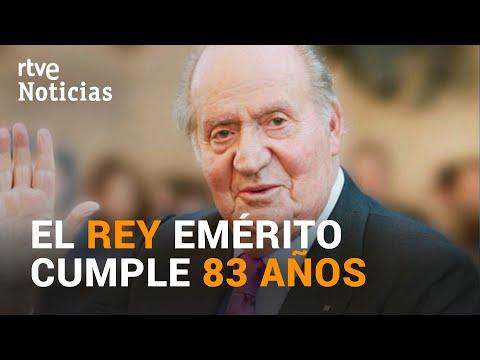 PREOCUPACIÓN por la SALUD de JUAN CARLOS I en su 83 CUMPLEAÑOS   RTVE Noticias