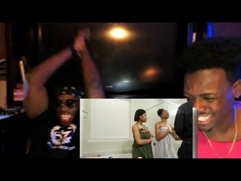 CAUGHT IN THE SHOWER WITH JAZZ AND TAE PRANK ON AR'MON!!!!! *REACTION*