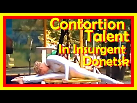 Outdoors Contortion Act In A Dangerous Region