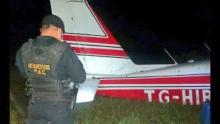 Avioneta accidentada en Río Dulce