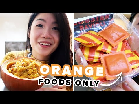 I Only Ate Orange Foods For 24 Hours