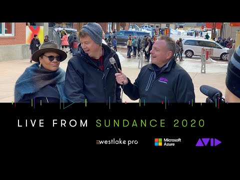 #AVID #SUNDANCE ⏩ Star of The 40-Year-Old Version, Radha Blank surprises editor Robert G Wilson