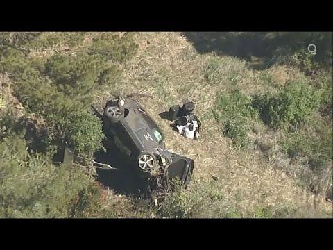 Tiger Woods Hurt in California Single-Car Crash