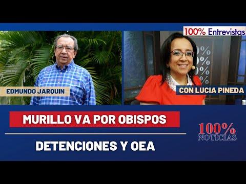 Murillo va por Obispos| Detenciones y OEA | 100% Entrevistas