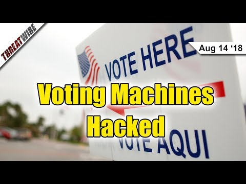 DEF CON 26: Voting Machines Hacked by Kids! - ThreatWire