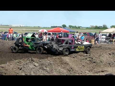 Chamberlain Demolition Derby 2018 Rookie Class Part 2