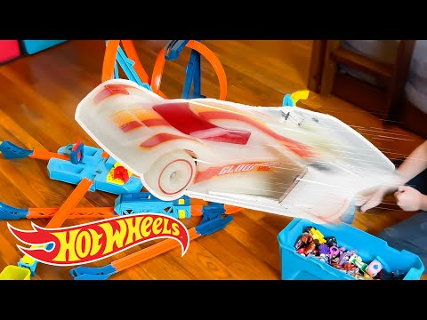 The BEST Catch Bucket Challenge Yet! 🏎️ | Labs Unlimited | @Hot Wheels