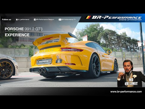 Experience Circuit Zolder in a Porsche 991.2 GT3 / By BR-Performance / Akrapovic Exhaust