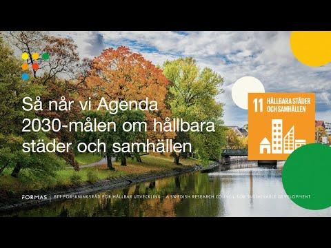 Så når vi Agenda 2030-målen om hållbara städer och samhällen