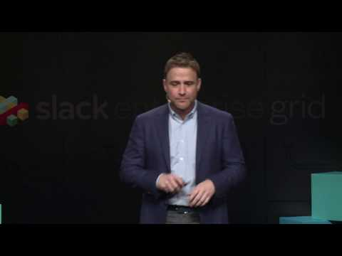 Powering the Grid Event by Slack: Closing remarks by Stewart Butterfield