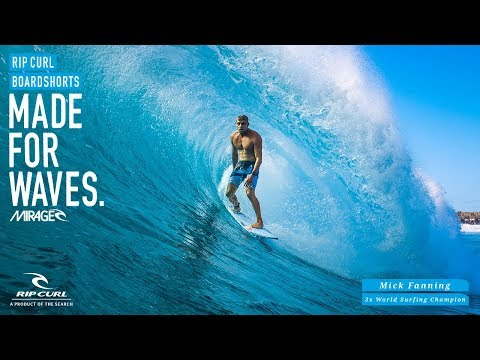 Mick Fanning | Mirage React Ultimate | Boardshorts by Rip Curl