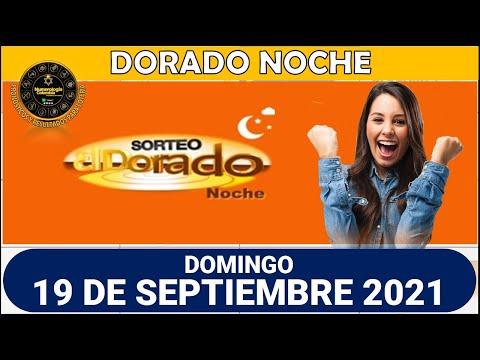 Resultados del Chance DORADO NOCHE del domingo 19 de septiembre de 2021