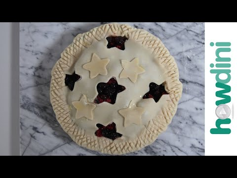 6 Easy Decorative Pie Crusts: Howdini Baking