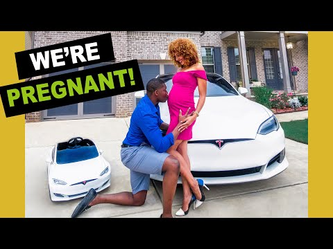 WE'RE PREGNANT! | How I Told My Husband + Philips Hue Gender Reveal