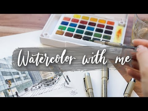 Watercolor Paint with Me!