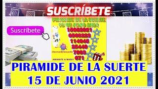 Piramide de la Suerte Para Hoy 15 de Junio 2021