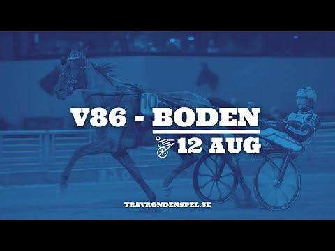 Tips V86 - Boden - 12 augusti 2020