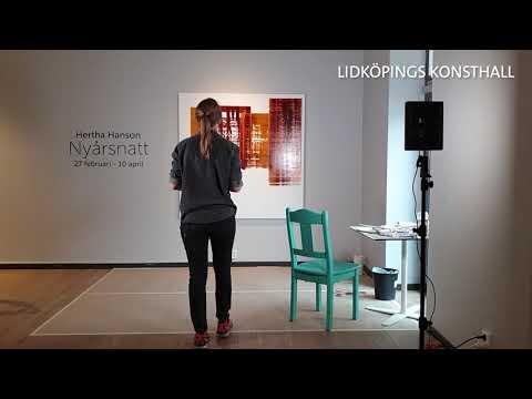 Hertha Hanson - Livemåleri i Lidköpings Konsthall