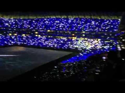 """La """"ola digital"""" en el nuevo estadio Rayado"""