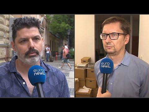 """""""Nem szabad megijednünk a megfigyeléstől"""" – újságírók az <span class=""""search-everything-highlight-color"""" style=""""background-color:orange"""">Euronewsnak</span>"""
