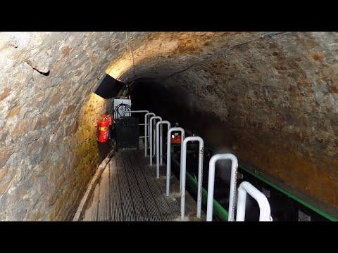 Podziemna trasa wodna sztolni Królowa Luiza w Zabrzu