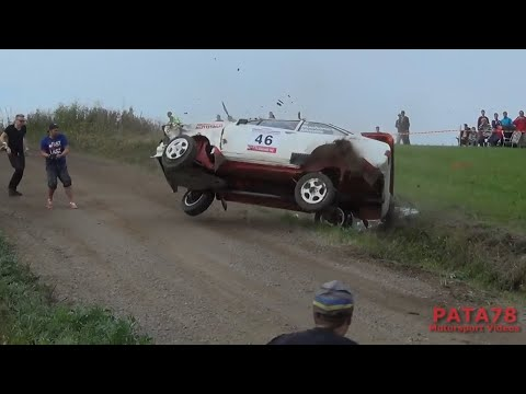 Finnish Rally Crashes 2014 - 2016