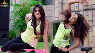 Rashmi Gautam Workout Scene | Woh Aa Gayi Latest Hindi Movie Scenes | Sri Balaji Video - SRIBALAJIMOVIES